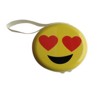 Emoji Earphone Box- Heart Eye