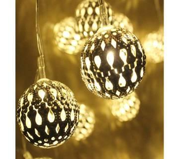Golden DIY Ball Light