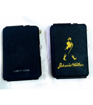 2 in1 cigarette case with lighterr-1pcs