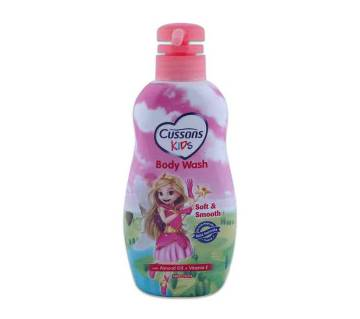 CUSSONS KIDS Body Wash - Soft and Smooth with Almond Oil and Vitamin E 350 ml (Indonesia)