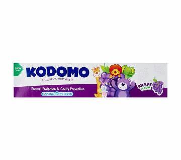 Kodomo Baby Toothpaste, Grape, 80gm