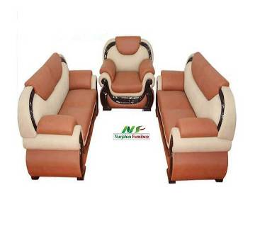 Artificial leather sofa set
