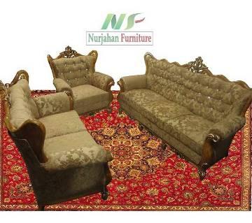 Segun Wood Victoria Design Sofa Set
