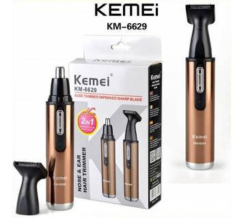 Kemei KM-6629 rechargeable Nose trimmer