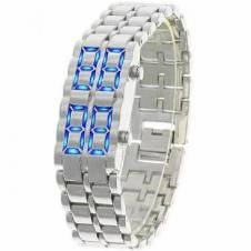LED samurai bracelet watch