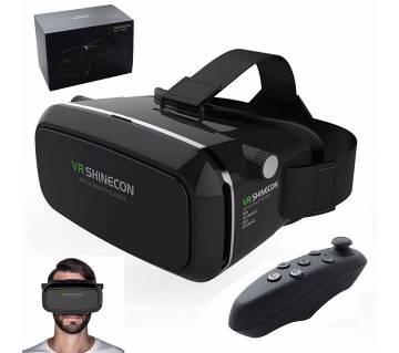 Shinecon VR Box 3D Glasses with Remote