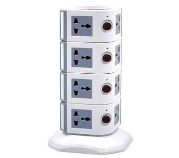 4 layer multi plug socket