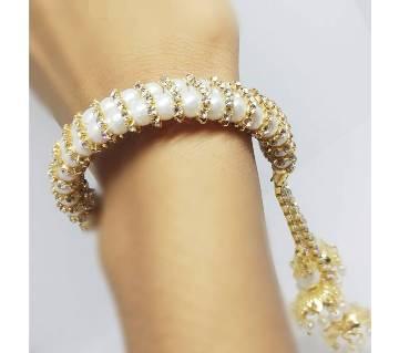 Pearl Stone Setting Bracelet