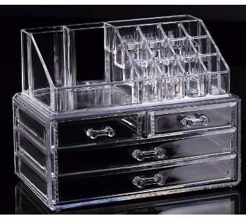 Jewellery and cosmetic display rack