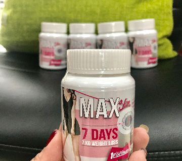 Max7 Days Slimming Capsules - 30 Tablets - Thailand