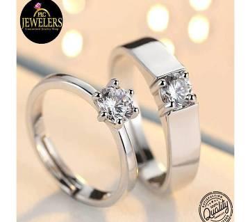 Diamond cut Gold Polish Jewellery Finger Ring