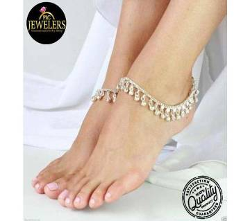 Original Indian Silver Anklet For Women