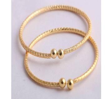 22K Gold Plated Stone Setting Ladies Churi (100% Color Guarantee)