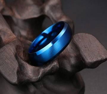 Men Fashion Ring Blue Color