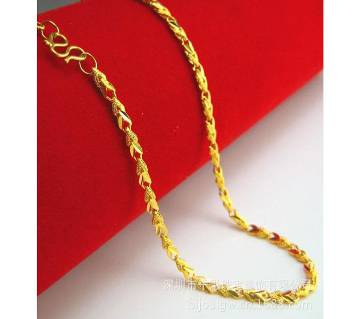 Gold Plated Man and Women Chain