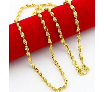 Gold Plated Man and Women Chain.