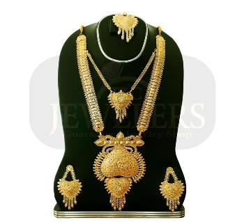 24 Caret Gold Polish Metal Jewellery Nacklaces