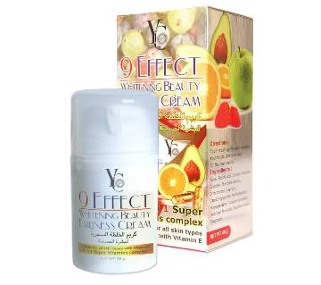 YC 9 Effect Whitening Beauty Fairness Cream