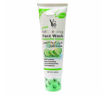 YC Whitening Face Wash Cucumber Extract