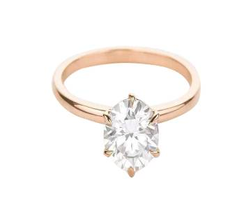American Diamond Cut AD Stone Finger Ring