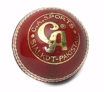 Ca - super test Cricket Ball - Red