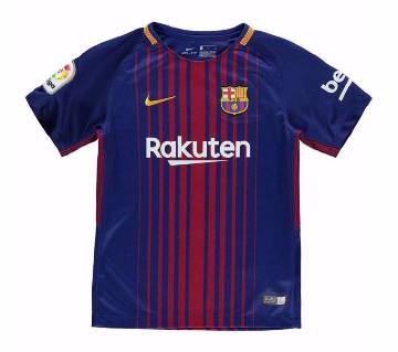 Barcelona Home Jersey 17-18 079bb76fe