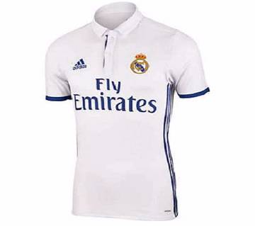 4dc784239 REAL MADRID HOME Half Sleeve Jersey