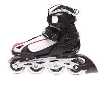 Action Inline Skates - White and Red