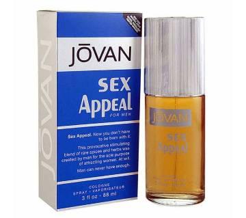 Jovan Sex Appeal Cologne Spray For MEN 88ml (UAE)