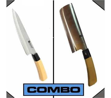 Kitchen Knife & Meat Cutting Knife Combo offers