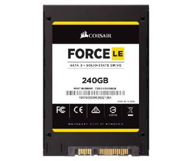 Corsair ইন্টার্নাল 240GB SSD Force Le - ব্ল্যাক