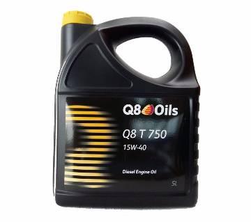 Q8 T 750 15W40 ডিজেল ইঞ্জিন লুব্রিকেন্ট