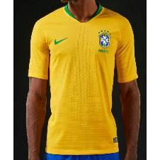 Brazil Home Jersey World Cup 2018 - Short Sleeve