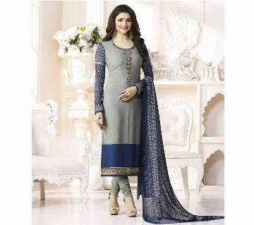 Indian Unstiched Georgette Embroidery Three Piece (Copy)
