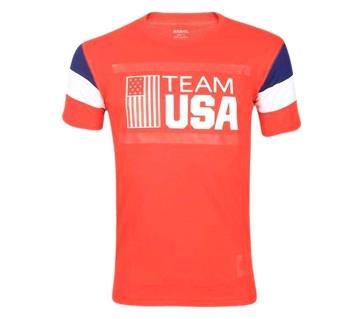 Team USA প্রিন্টেড টি-শার্ট ফর মেন