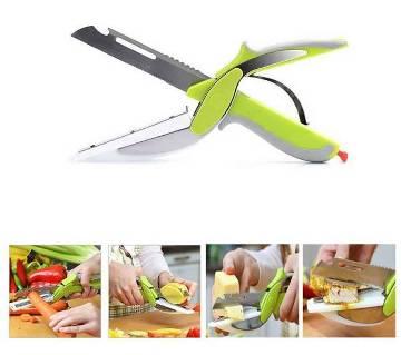 Smart Cutter 6 in 1 cutting board knife
