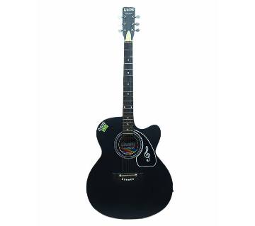 Givson Indian Acoustic Guitar- Black