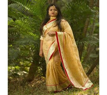 Exclusive Designer Cotton Sharee