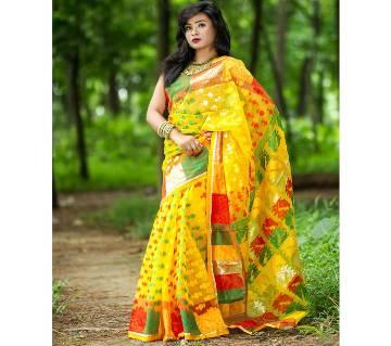 Muslin Silk Sharee