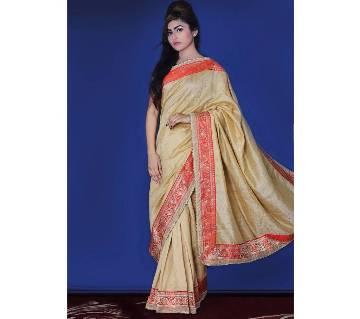 Dhupiyan Silk Sharee With Blouse Piece
