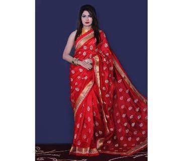 Dupian Silk Sharee With Blouse Piece