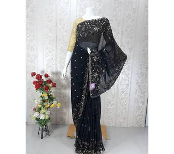 Gorgeous Designed Georgette Sharee