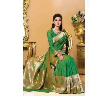 Tosor Silk Katan Sharee