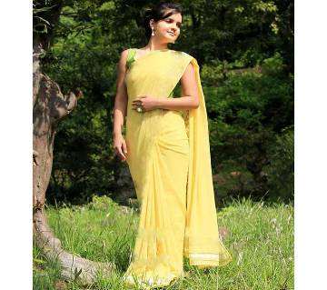 Chiffon Soft Georgette Sharee (Blouse Piece Included)