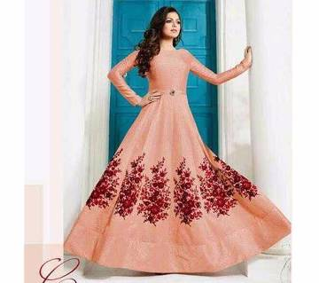 Indian Embroidery Georgette Three pcs