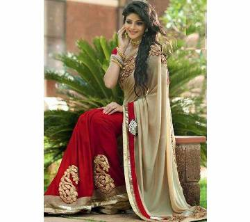 Indian Exclusive Designer Georgette Sharee