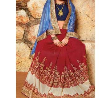 Indian Georgette sharee with blouse piece