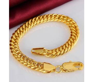 Menz Gold Colour Platted Bracelet