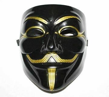 Vendetta মাস্ক-ব্ল্যাক