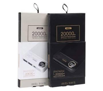 Remax Rpp-59 kooker 20000 mah পাওয়ার ব্যাংক